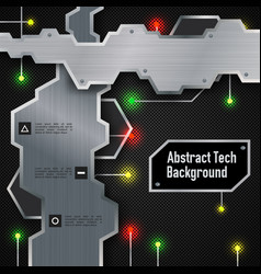 Abstract technologic background vector