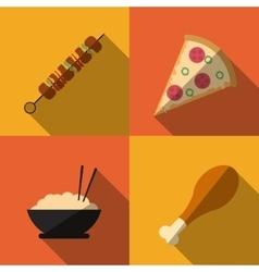 Food and Menu design vector