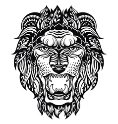 Lion Head Graphic vector