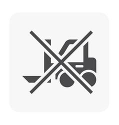 packaging symbol black vector image