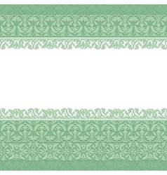 Pattern borders vector image