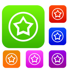 Star set collection vector