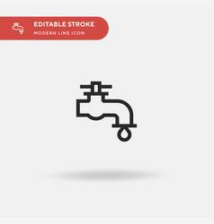 tap simple icon symbol design vector image