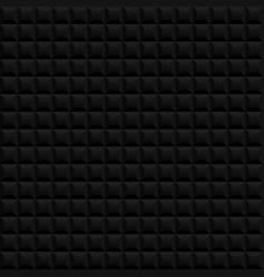 Black seamless pattern background vector