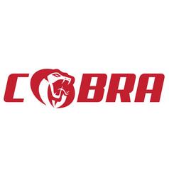 Cobra logo symbol vector