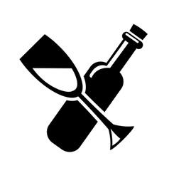 drink icon vector image vector image