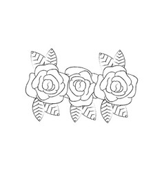 Flowers icon image vector