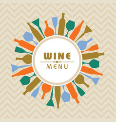 for wine shop menu stock vector image
