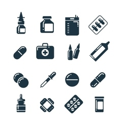Medication pharmacology pills tablets medicine vector