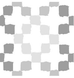 Monochrome grey geometric background vector