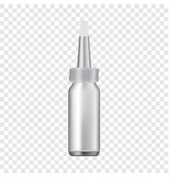 Nasal drops icon realistic style vector