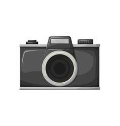 photo apparatus film camera shooting vector image