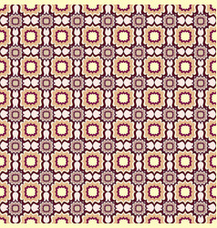 seamless line pattern abstract floral ornament vector image