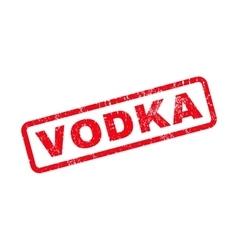 Vodka Rubber Stamp vector