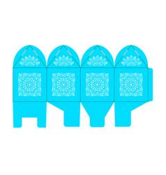 birdcage favor box wedding gift box vector image
