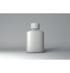 Plastic Bottle Packaging Mock-up vector image vector image