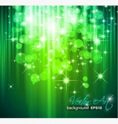 magic waterfall vector image