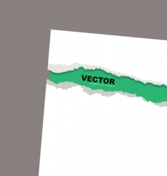 torn paper reveal min vector image