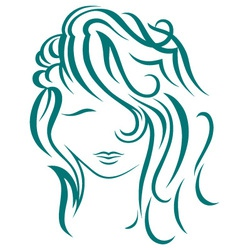Beautiful woman vector image