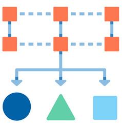 Data classification flat vector