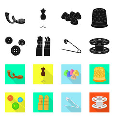 design craft and handcraft symbol set vector image