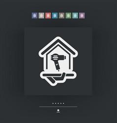 dryer icon vector image