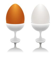 eggs for breakfast vector image
