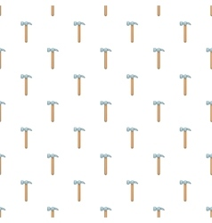 Hammer tool pattern cartoon style vector