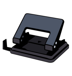Hole puncher vector
