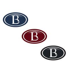Lb letter vector