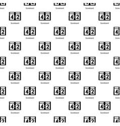 Scoreboard pattern seamless vector
