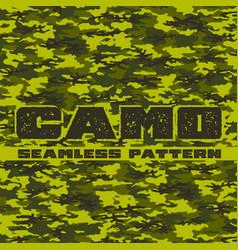 seamless camo vector image
