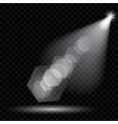 Spotlights Illumination vector image