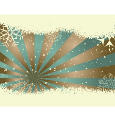 vintage retro christmas card vector image