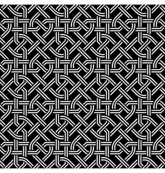 seamless celtic pattern vector image vector image