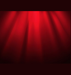 bright stage with spot illumination presentation vector image vector image