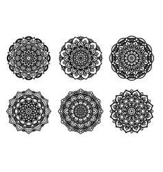 mandalas vector image vector image