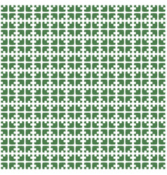 abstract geometric pattern with tight grid shapes vector image