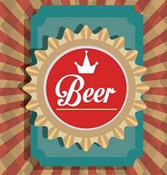 Beer digital design vector