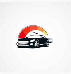Car speed logo designs concept icon element and vector