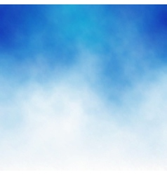 Cloud blue vector