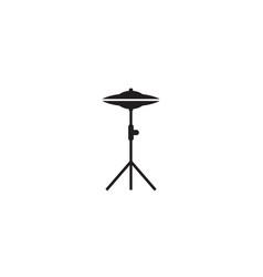 cymbals icon vector image