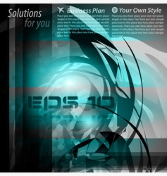 High tech abstract business background vector