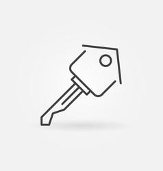 house key icon vector image