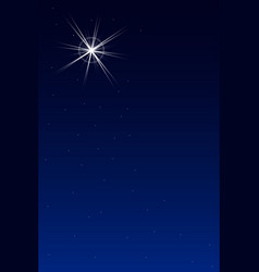The brightest star vector