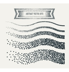 halftone dots abstract business grey vector image vector image