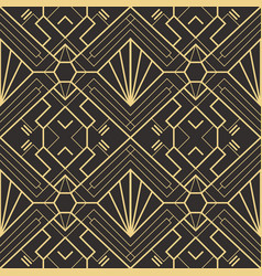 Abstract art deco seamless pattern 22 vector