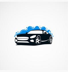 Car wash logo designs modern concept icon element vector