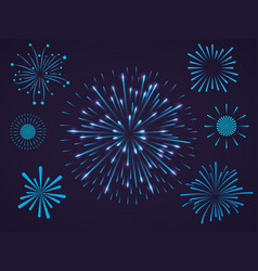 celebrating and festive composition vector image