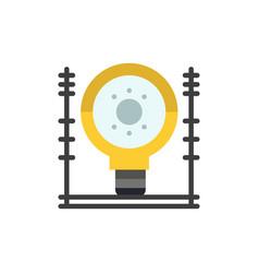 Define energy engineering generation power flat vector